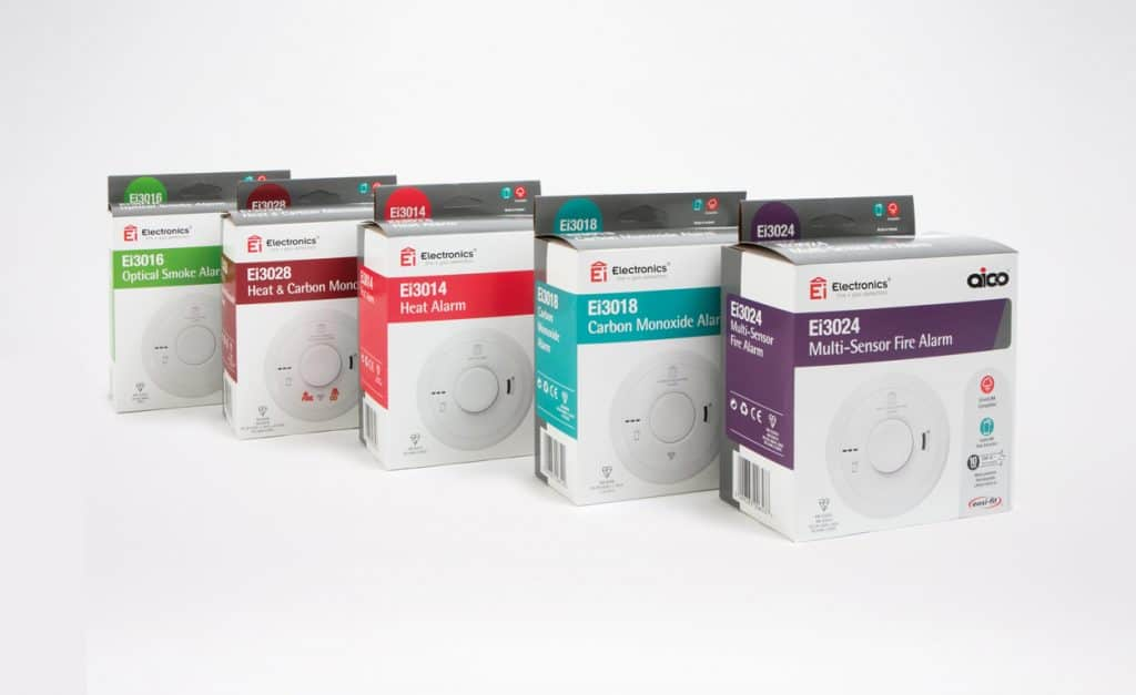 Aico mains powered smoke alarm